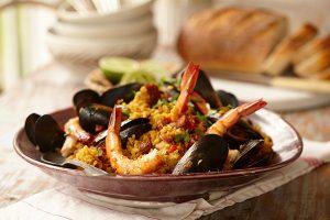 Amazing Rogan Josh Paella with Seafood - Zest Byron Bay