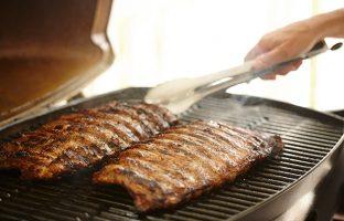 BBQ Pork Ribs with Massaman Satay