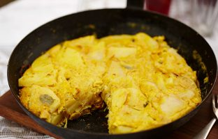 Kerala Influenced Spanish Tortilla