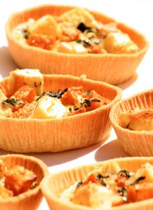 Exotic Spiced Pumpkin, Bangalow Fetta & Silverbeet Tart - Zest Byron Bay