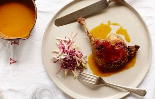 Rendang 'Corrupted' Duck Confit