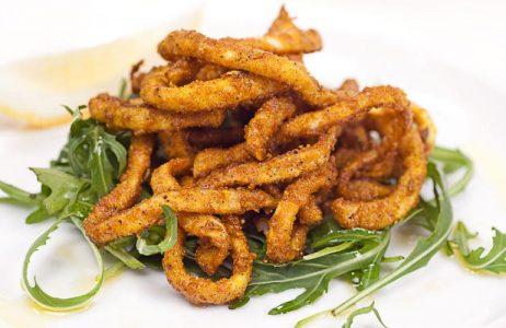 Nepalese Spiced Calamari