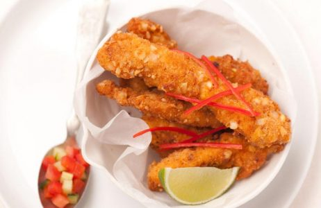 Fiesta Spiced Crispy Chicken Strips