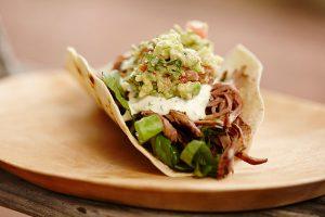 Butter Chicken Brisket Soft Tacos w Simple Sides - Zest Byron Bay